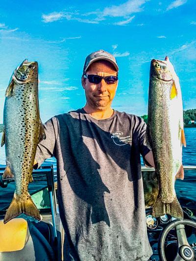 Histoire de pêche avec Chasse aventures Estrie